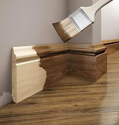 Listwy przypodłogowe drewniane - to element wykończeniowy podłogi, który charakteryzuje się wyjątkowo wysokimi walorami estetycznymi. Jego wyjątkowe właściwości sprawią, że podłoga w naszym domu będzie wyglądać wyjątkowo. Postaw na listwy przypodłogowe drewniane już teraz! Lighting, Home Decor, Decorations, Houses, Decoration Home, Room Decor, Lights, Home Interior Design, Lightning