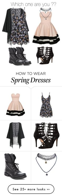 """Untitled #21"" by kaitlynrobinson2003 on Polyvore featuring MANGO, Steve Madden, Michael Kors and Wet Seal"