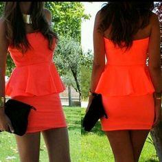 Love peplum tops/dresses