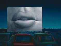Jeffrey Smart Drive-in cinema