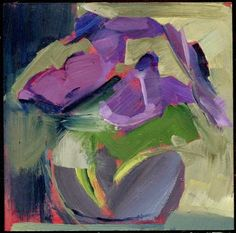 2098 Mussels, painting by artist Lisa Daria Kennedy
