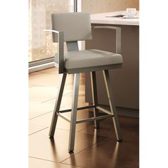 Amisco Urban Style 26.25 inches Swivel Bar Stool with Cushion #LGLimitlessDesign   #Contest