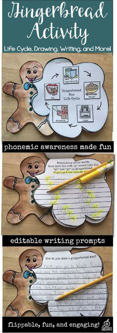 gingerbread craft for kids