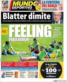 Portada Mundo Deportivo 3/6/2015