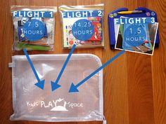 Toddler plane travel ideas-flight packs