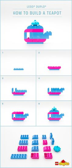 Anyone for tea? Here's how you and your little one can build a LEGO DUPLO teapot in a few simple steps!  http://www.lego.com/da-dk/family/articles/how-to-build-a-teapot-b982473c42ef437aa894275efe83a04d