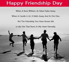 Happy Friendship Day Wishes Images Friendship Day Poems, Greetings, Thoughts, Short Best Friend Poems - Happy Friendship Day Images 2018 Best Friendship Day Quotes, Happy Friendship Day Messages, Friendship Day Wallpaper, Happy Friendship Day Images, Friendship Day Greetings, Bff Quotes, Friend Quotes, Friendship Essay, Qoutes