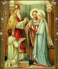 Today, we celebrate the feast of the Espousal of the Blessed Virgin Mary to Saint Joseph . We don't often think of the marriage of Mary and . Religious Pictures, Religious Icons, Religious Art, Blessed Mother Mary, Blessed Virgin Mary, Catholic Art, Catholic Saints, Roman Catholic, St Joseph