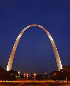 The St Louis Arch,  St Louis