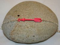 Bracelet flèche corail
