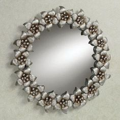 Blooming Jewels Wall Mirror