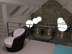 Privátní wellness s posilovnou Wall Lights, Wellness, Lighting, Home Decor, Appliques, Lights, Interior Design, Home Interiors, Lightning