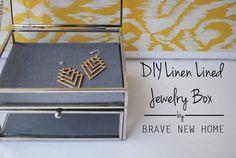 1 - DIY Linen Lined