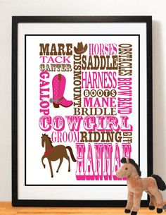 This Item Is Unavailable. Girls Horse Decor Cowgirl Gifts Girls Bedroom ...