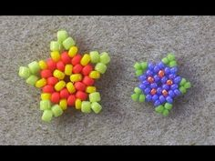 Beaded Star Charms - YouTube