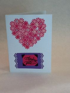 Happy birthday 5 by 7 a7 card handmade by adults with autism rubber unique heat embossed with rubber stamps autism greeting card paper punched m4hsunfo