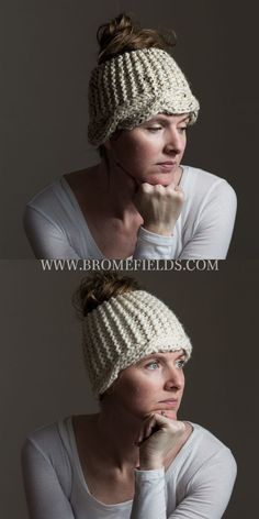 Super Easy Cable Headband Knitting Pattern!