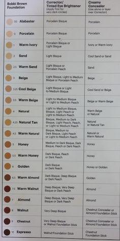 19 Unique Lancome Dual Finish Color Chart