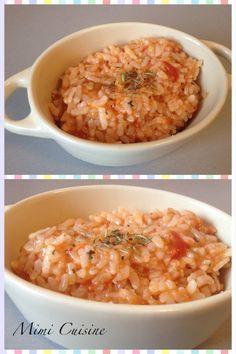 Risotto a la tomate Recette Cookeo de chez Moulinex. Retrouvez pleins de recettes faites au Cookeo sur mon site Mimi Cuisine. Et bien plus encore !