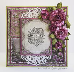 Designs by Marisa: Heartfelt Creations Wednesday - Happy Birthday Card