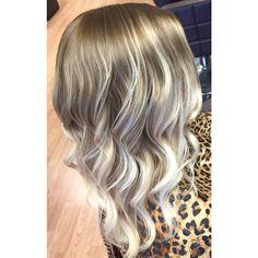 http://www.briannashaughnessy.com Ashy blonde balayage hair