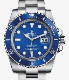 Rolex Submariner Date Watch: 18 ct white gold - 116619_lb