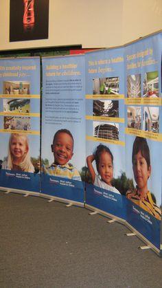 Nemours Hospital for Children Retractable Banner Stands