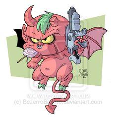 Devil Brat by BezerroBizarro on deviantART