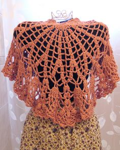Victorian Rose Pineapple Shawl by AStitchInTimeCraft on Etsy, $75.00