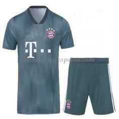 Camisetas De Futbol Niños Bayern Munich Tercera Equipación 2018-19 664b128cafaed