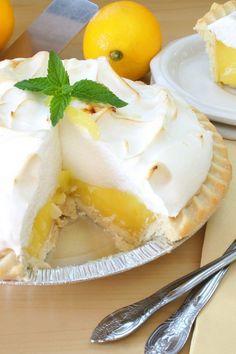 Grandma's Lemon Meringue Pie - yum - don't know if my grandmas ever made this, but this is my fav!