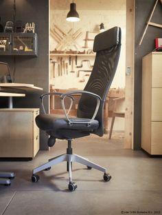 Un scaun confortabil face munca mai ușoară, nu-i așa? www.IKEA.ro/scaun_MARKUS