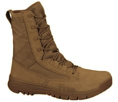 US Patriot Tactical - Nike SFB Field AR670-1 Compliant 8 inch Leather Boot (Coyote), $150.00 (http://uspatriottactical.com/nike-sfb-field-ar670-1-compliant-8-inch-leather-boot-coyote/)