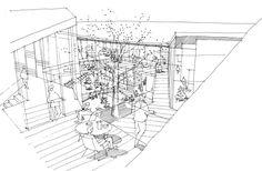Forfatterhuset Kindergarten Proposal. LETH & GORI + EMA.