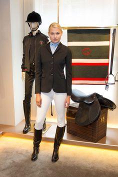 "Gucci Equestrian Collection Shown in SF, a gg embossed saddle!! …...at Comtesse J. -..... ""Les Infortunes de la Vertu"""
