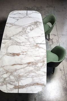 marble-table-romeo-by-baxter-design-roberto-lazzeroni - The world's most private search engine Marble Furniture, Furniture Dining Table, Dining Table Design, Dining Room Table, Baxter Furniture, Console Tables, Furniture Design, Unique Coffee Table, Coffee Table Styling