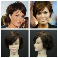 Mandy Moore Pixie Haircut Inspired Tutorial