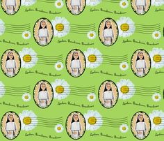 Saint Cecilia's Dominican Sisters fabric by magneticcatholic on Spoonflower - custom fabric