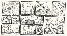 Keith haring y una mirada poltica sobre su obra keith haring el untitled the blueprint drawings no1 by keith haring malvernweather Image collections