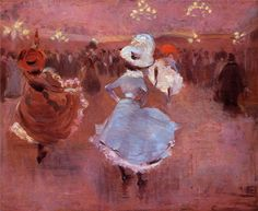 Can Can Dancers, Jean Louis Forain. French (1852 - 1931)