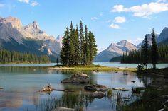 Maligne Lake and the Spirit Island