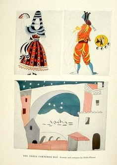 Picasso designs for Ballets Russes