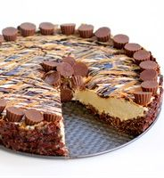 Frozen Peanut Butter Cheesecake - can't wait to try this! Love the fact that it only calls for 1 pkg of cream cheese and also incorporates rice krispie cereal in the crust.