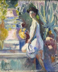 eanne à la fontaine 1905  Henri Manguin