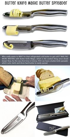 Magic Butter Knife And Spreader