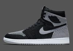 cheaper c9716 dc6dd Nike Air Jordan 1 Retro Flyknit -Shadow (919704-003) USD 155 HKD