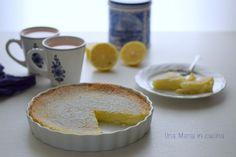 Torta impossibile al cocco e limone (Donna Hay)