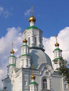 Krasnoyarsk city, Siberia, Russia.