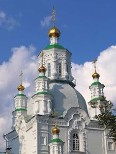 Rusia Krai de Krasnoyarsk Krasnoyarsk  Свято-Покровский кафедральный собор. Красноярск
