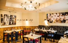 Kohvik Moon on herkullinen ja rento ravintola Kalamajan kaupunginosassa Tallinnassa Conference Room, Table, Furniture, Home Decor, Decoration Home, Room Decor, Tables, Home Furnishings, Home Interior Design